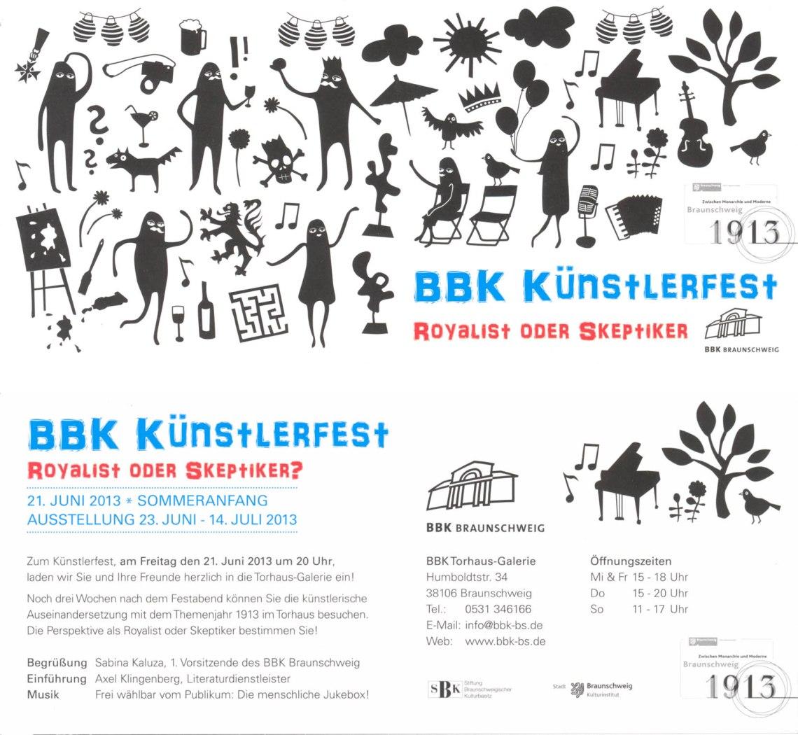 2013 BBK Künstlerfest
